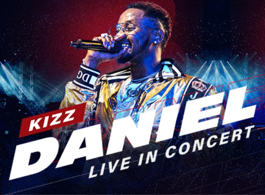 Kizz Daniel Live